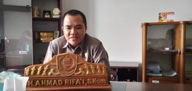Ketua DPRD Pulpis Sampaikan Ucapan Terimakasih Kepada Triono Rahyudi
