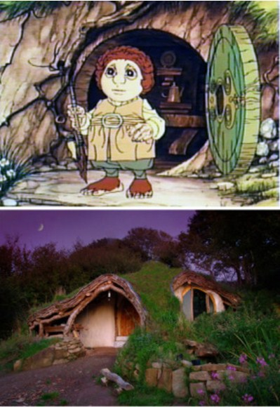 Unique home-Inspired from the animated film