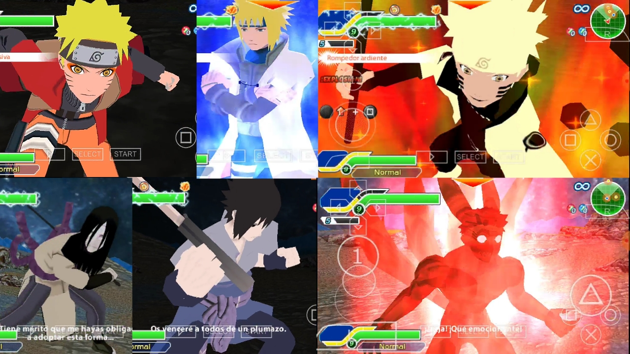 Naruto PSP Game for Android