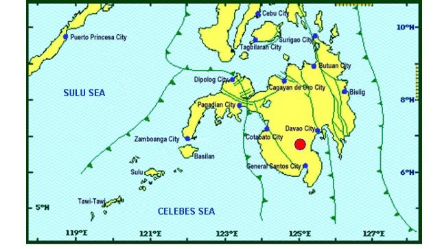 Magnitude 6.3 earthquake shakes Mindanao