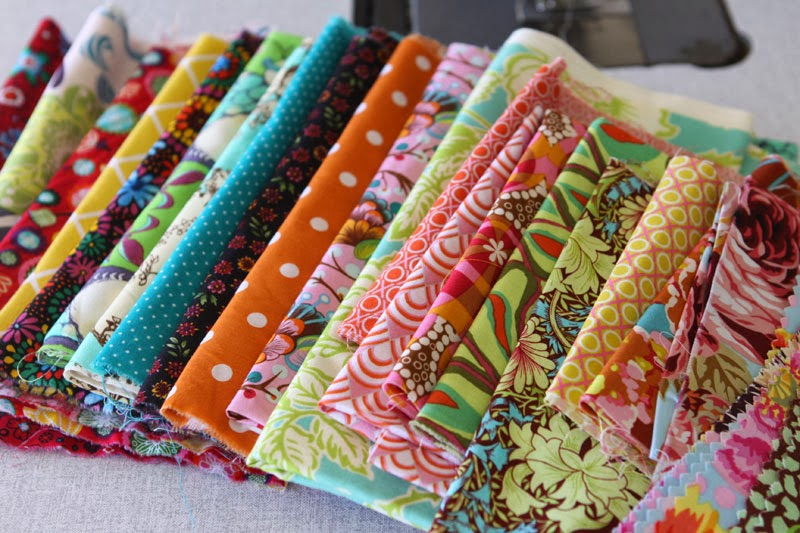 Quilting fabric selection