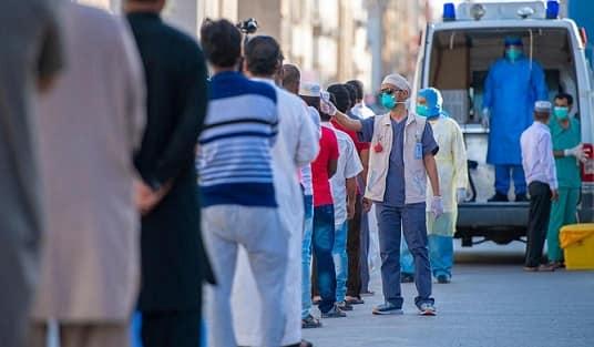 Saudi Arabia Coronavirus Cases on 3rd May 2020