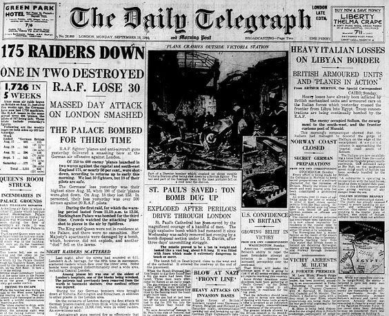 15 September 1940 worldwartwo.filminspector.com Daily Telegraph