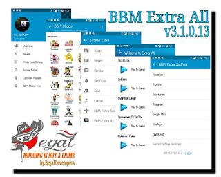 Download Dual BBM + BBM2 + BBM3 + BBM4 v3.1.0.13 MOD APK Terbaru