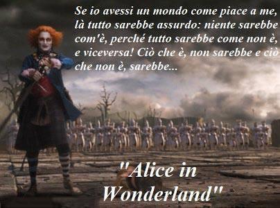 Le Piu Belle Frasi Del Cinema Alice In Wonderland 2010