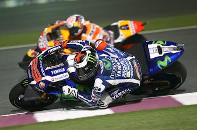 Lorenzo tercepat di Latihan Hari Pembuka Qatar, Repsol Honda Tenggelam