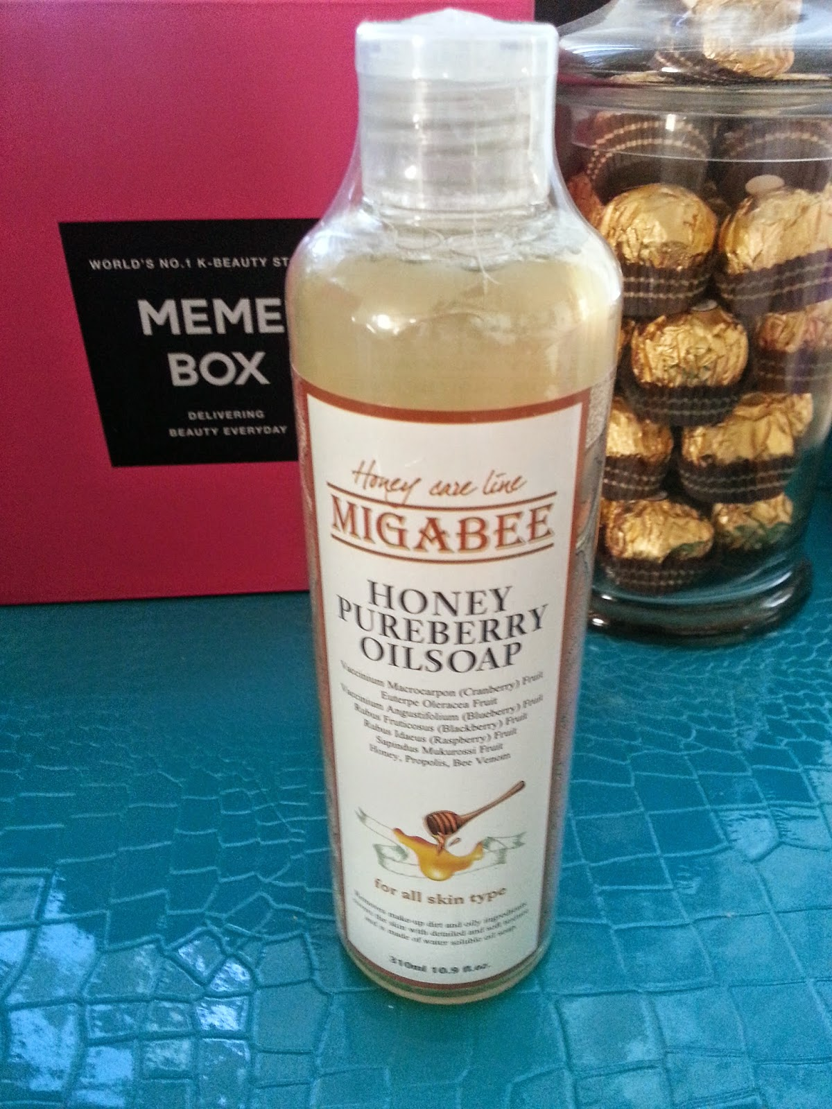 Migabee Pure Berry Oil Soap Honey