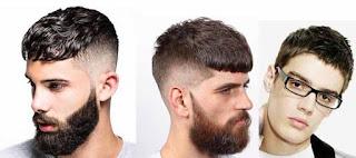 Potongan Rambut Pria Caesar Haircut