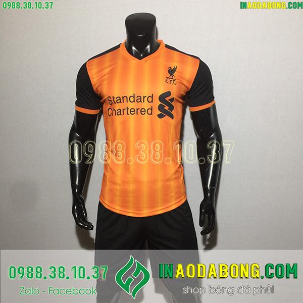 Áo bóng đá câu lạc bộ Liverpool 2020 màu cam