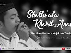 Lirik At Taufiq - Shollu'ala Khoiril Anam