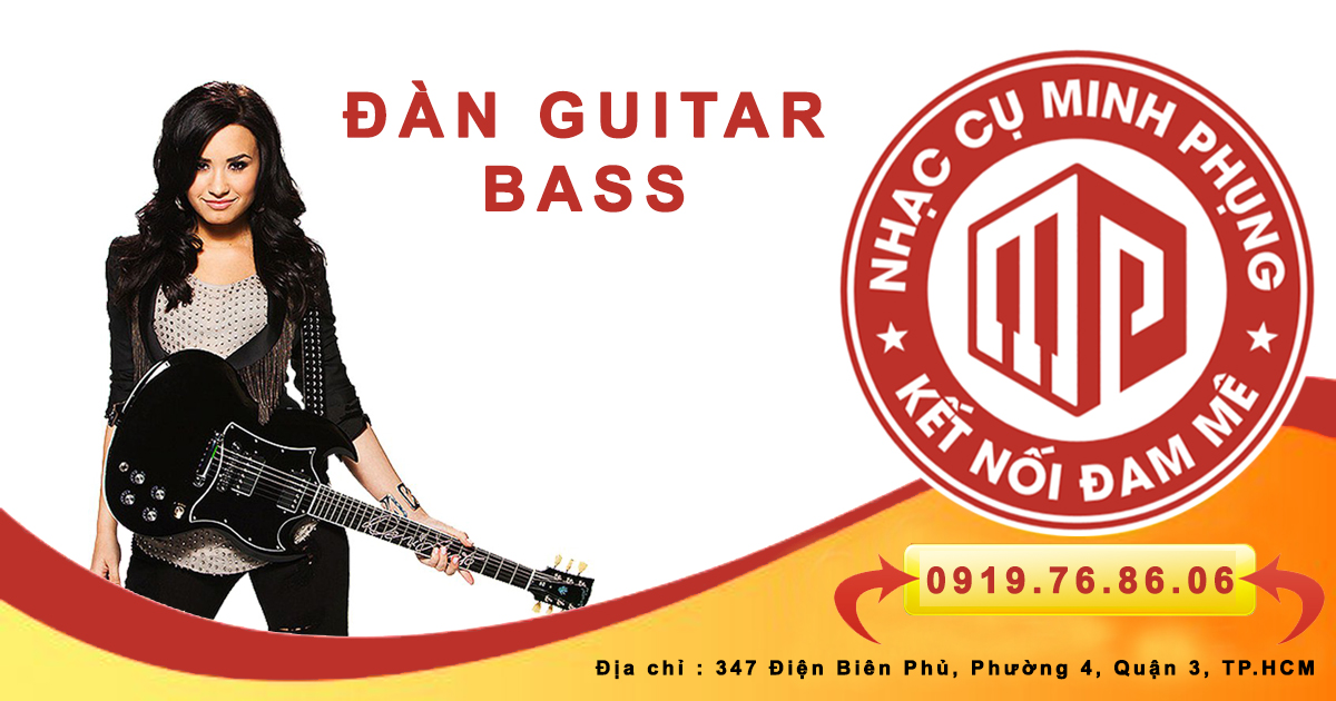 Đàn guitar bass là gì - guitar điện khác gì guitar bass