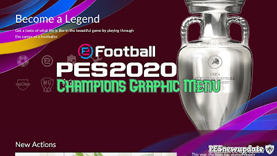 PES 2020 Champions Menu by KTGR