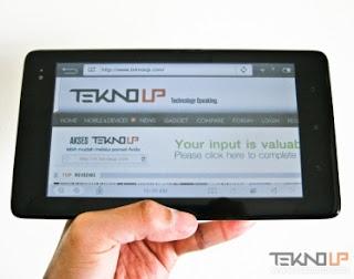 Huawei Ideos S7 Slim Tablet Android 3G harga dibawah 1.5 juta
