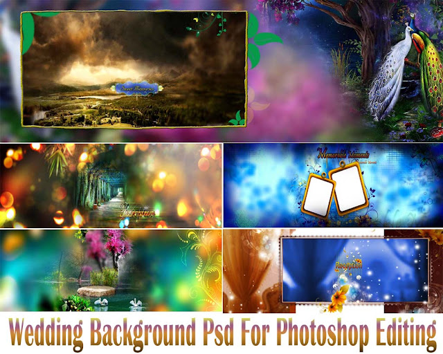 Wedding Background Psd For Photoshop Editing