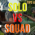 Win PUBG Solo vs Squad | PUBG Mobile Tips