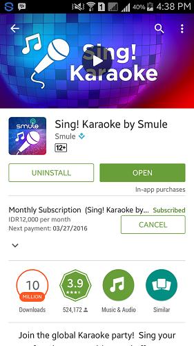 Smule Sing Google Play