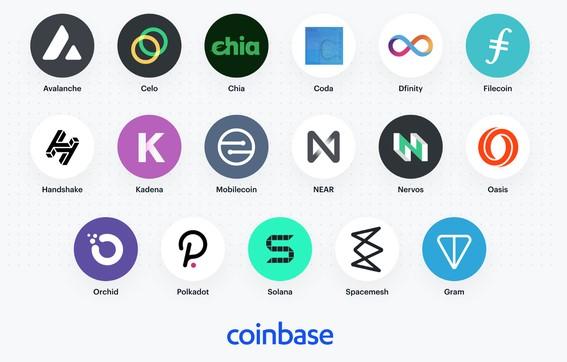 Daftar List Koin Kripto Di Coinbase