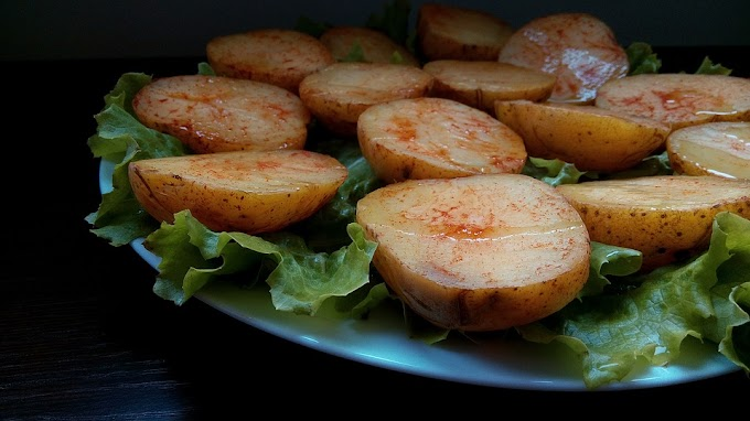 Spicy Paprika Potatoes