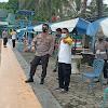Kapolda Merdisyam Didampingi Kabag Dalpers Saksikan Catar (i) Test Renang Di Kolam Renang Kodam Hasanuddin
