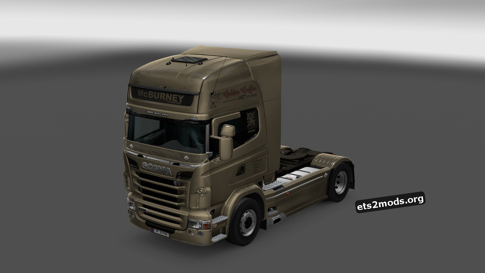 Scania RJL McBurney Golden Griffin