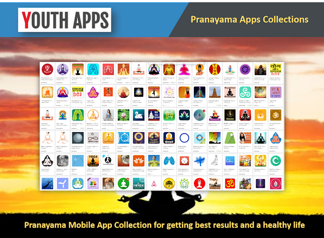 Yoga Breathing Exercise – Pranayama Mobile Apps Collection - Youth Apps