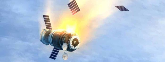reentrada do satélite OGO-1
