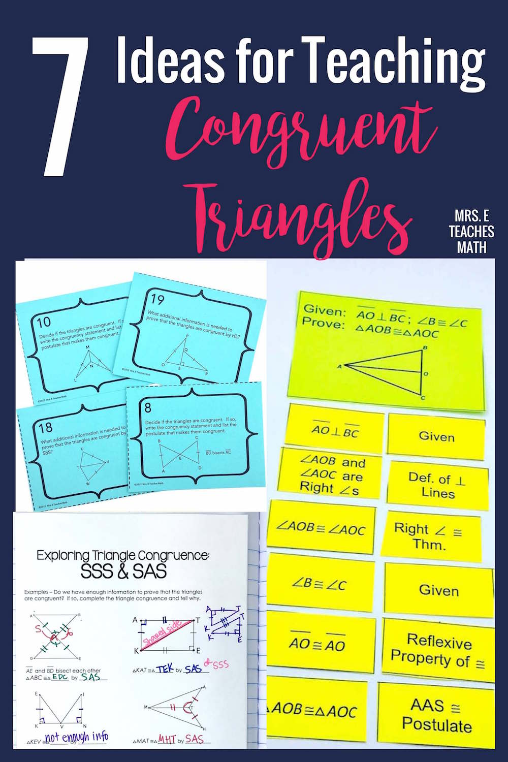 medium resolution of 7 Ideas for Teaching Congruent Triangles   Mrs. E Teaches Math