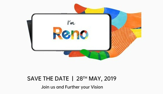 OPPO Reno series set to launch in India on May 28