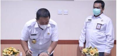 Gubernur Arinal Serahkan LK Tahun 2020 ke BPK