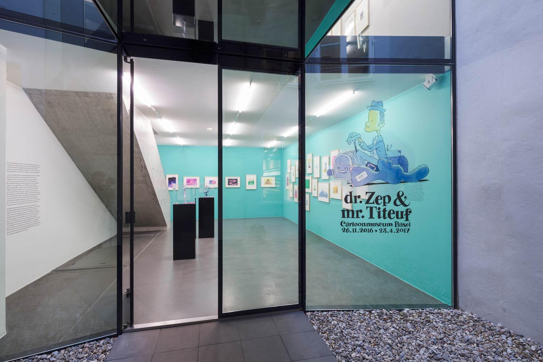 Museu de Caricaturas e Cartoons de Basel (Cartoonmuseum Basel)