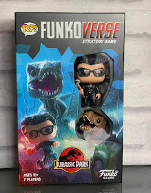 Jurassic Park Funkoverse Strategy game expandalone in box