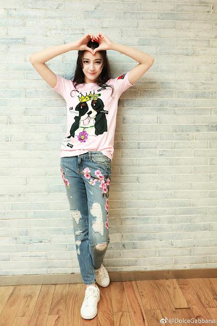 Dolce Gabbana Chinese brand ambassadors Dilireba