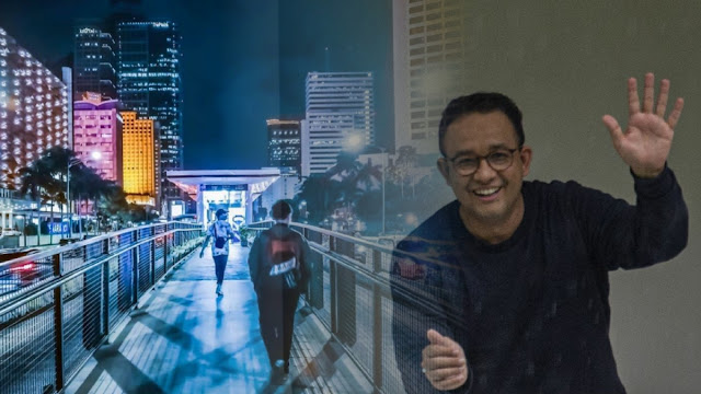Anies Mendunia Trending Topic, Netizen: Jakarta Amburadul itu Dulu, Sekarang Indah