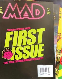MAD Magazine 2018 Reboots