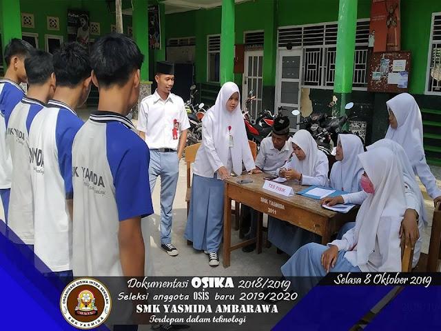 Menegangkan, Seleksi Pengurus OSIS Baru SMK Yasmida Ambarawa Tahun 2019/2020