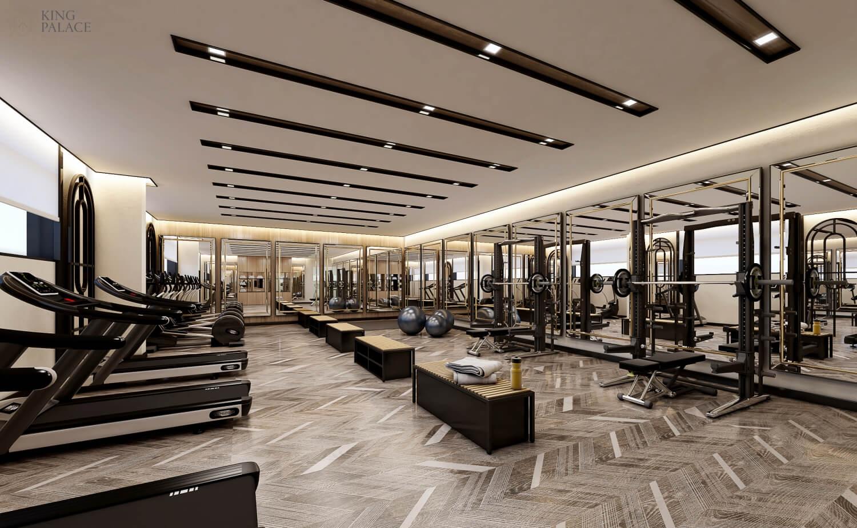 Phòng tập gym chung cư King Palace
