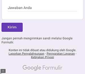 Kenapa Tidak Bisa Mengisi dan Mengetik di Google Form