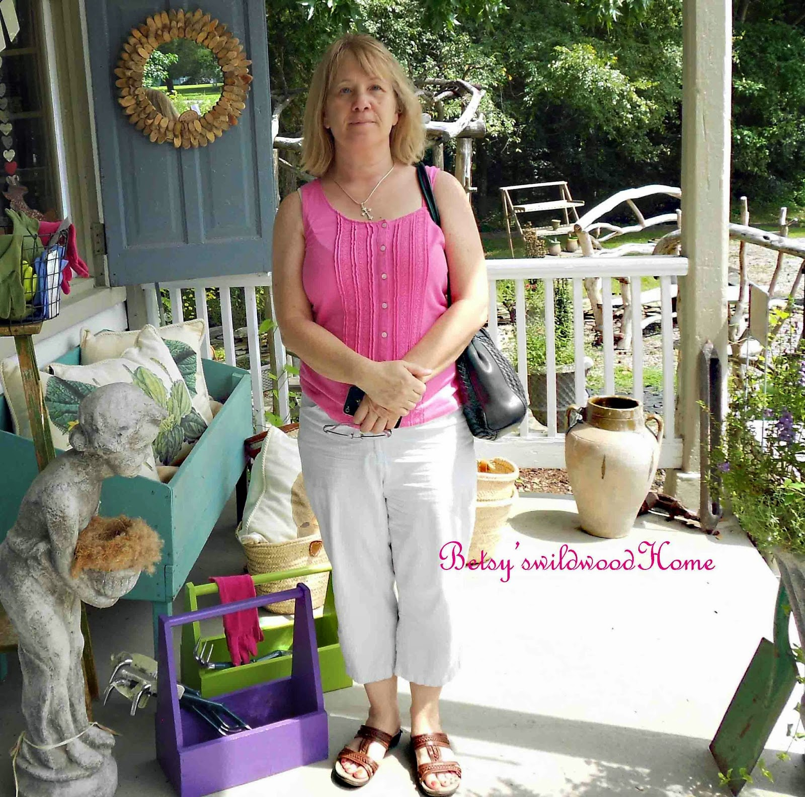 Betsy's Wildwood Home: Happy Birthday Donna And A Cake