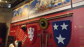 Fegyverek a William Wallace kiállításon