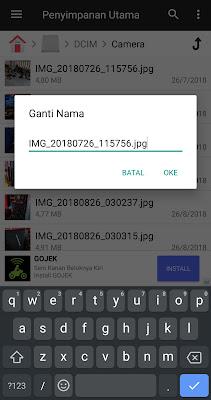 Ubah Ekstensi File Android