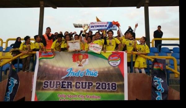 Lancang Kuning FC Juara Indomie Supercup 2018