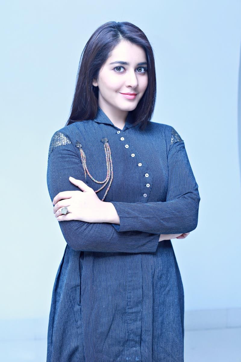 Tollywood Actress Rashi Khanna Photoshoot Gallery In Blue Dress