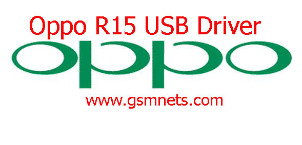Oppo R15 USB Driver Download