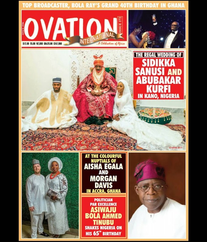Bola Ray makes Ovation Magazine cover