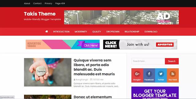 Premium Blogger Template
