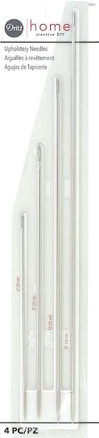 agujas largas de tapicero