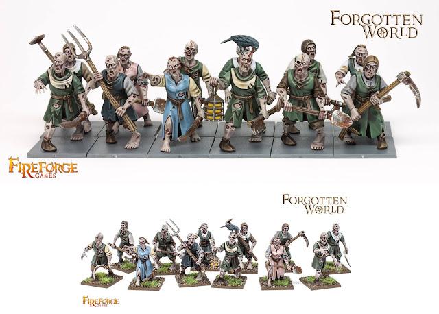 Forgotten World: paesani Zombie