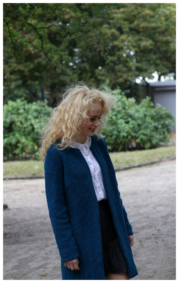 Blue Sweater with WOOL ;-)