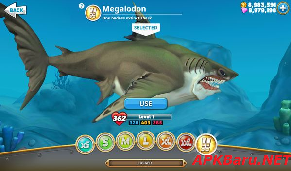 Hungry Shark World v1.5.2 Mod Apk+Data Terbaru