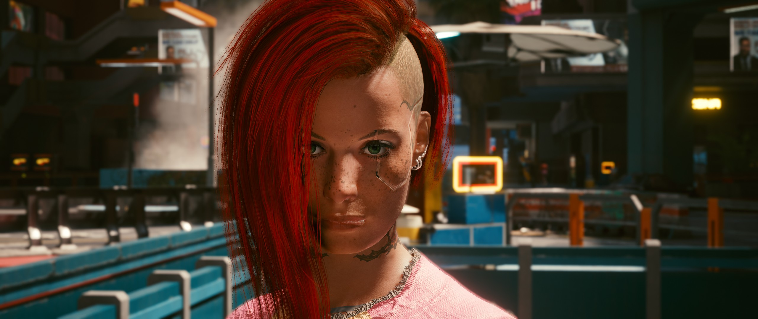 Cyberpunk 2077: Sweet V before and after the robbery